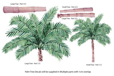 Large Palm Tree parts