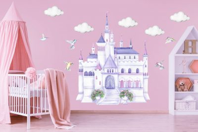 Disney Princess Castle Decal Set