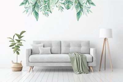 Tropical-Forest-Leaves-Decal-Set