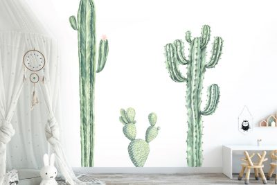 Cacti Wall Decal Set 1