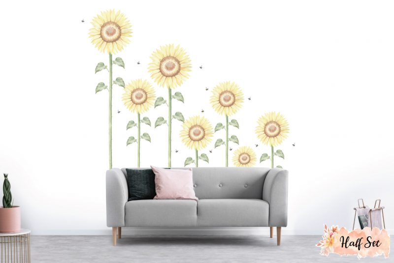 Sunflower-Large-Half-set-wall-decals_04