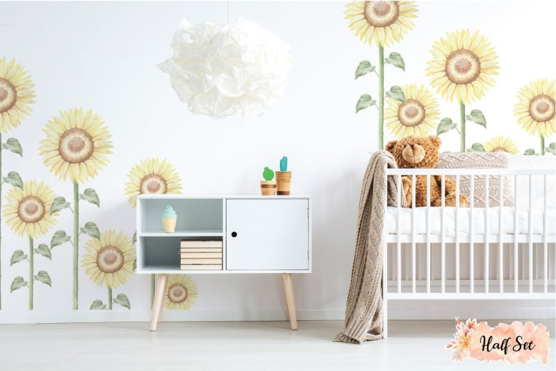 Sunflower-Large-Half-set-wall-decals_02