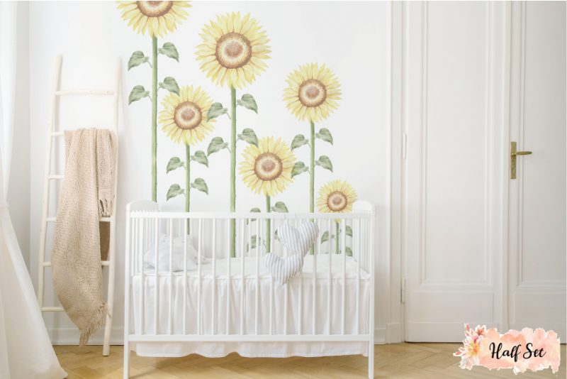 Sunflower-Large-Half-set-wall-decals_03