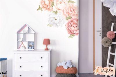 Peach-Peony-&-Rose-Wall-Decals_Half-Set